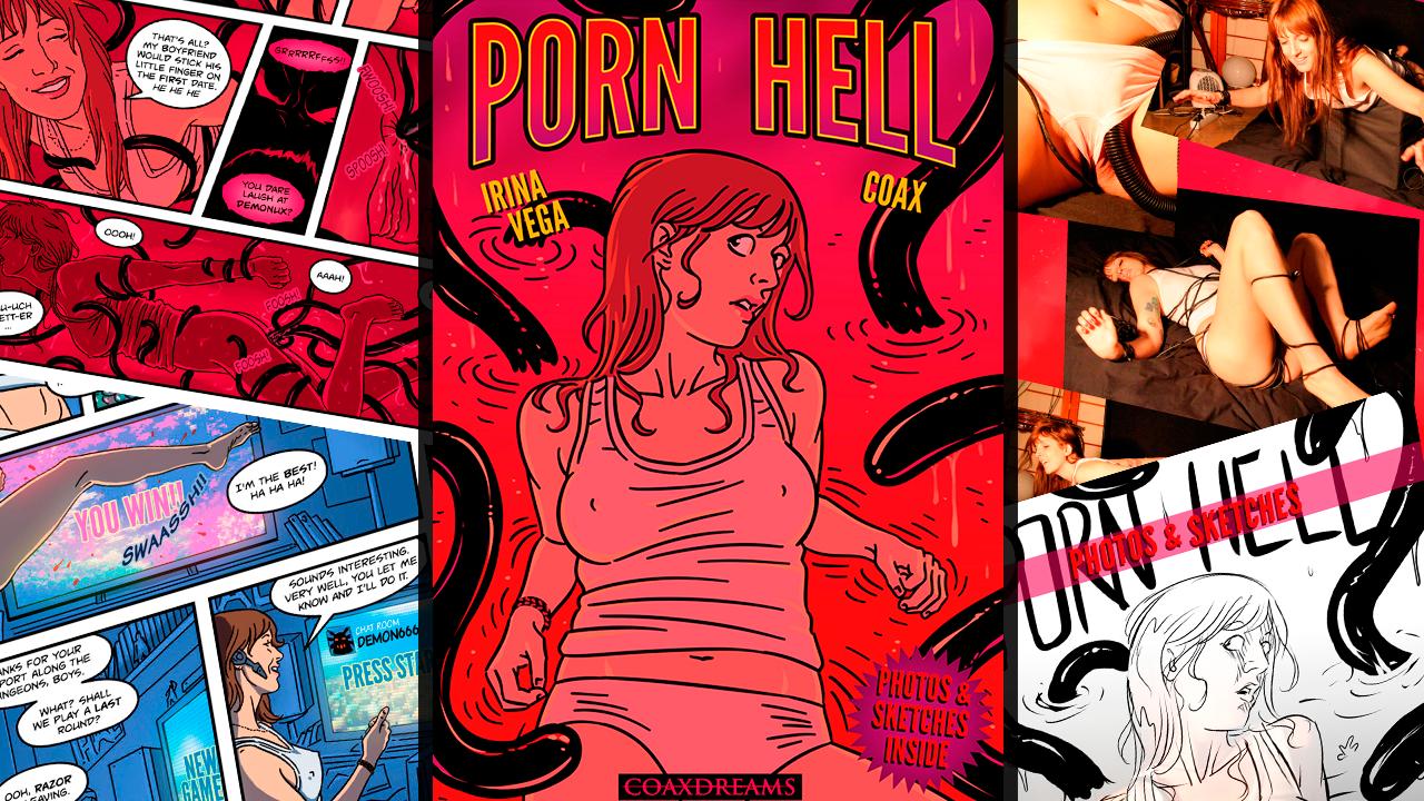 Porn Hell hentai comic ft. Irina Vega by Coax