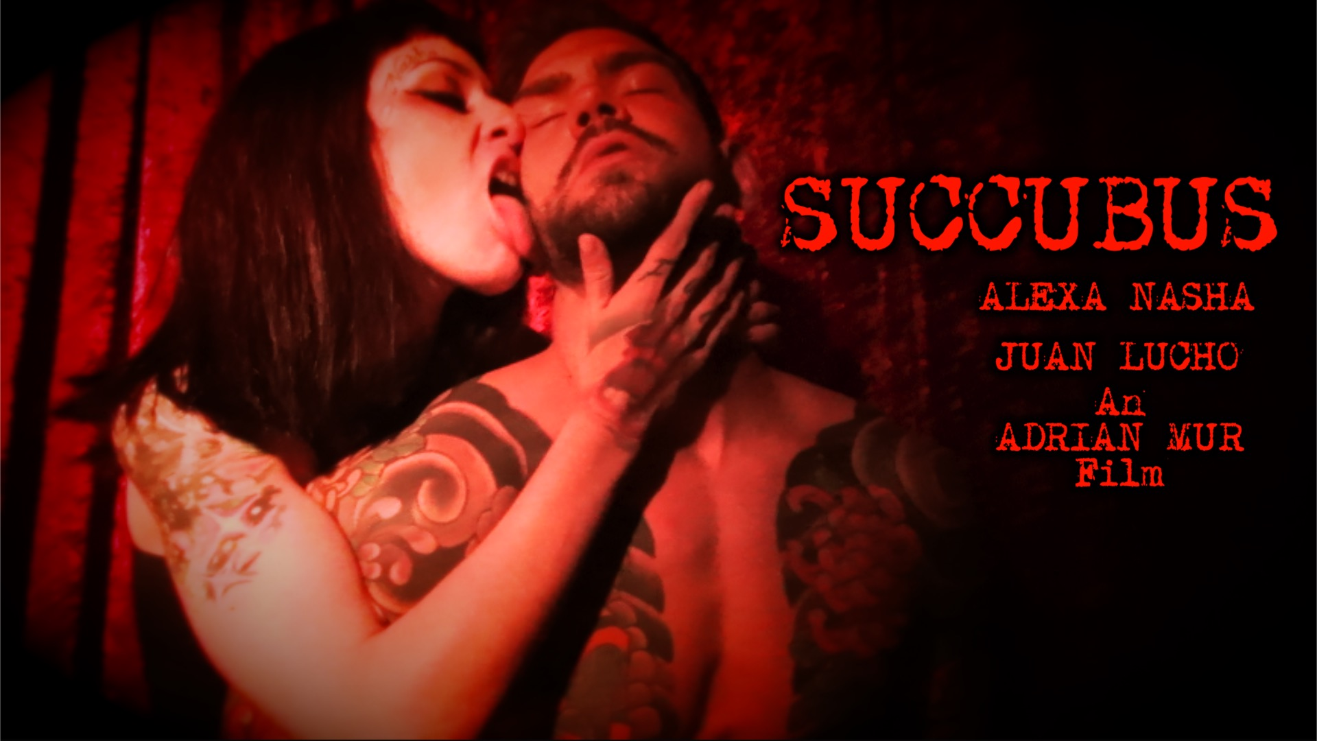 Succubus with Alexa Nasha and Juan Lucho split tongue demon